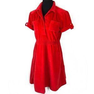 Adorable vintage velour dress